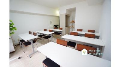 【川崎会議室】 光回線高速Wi-Fi無料の会議室の室内の写真