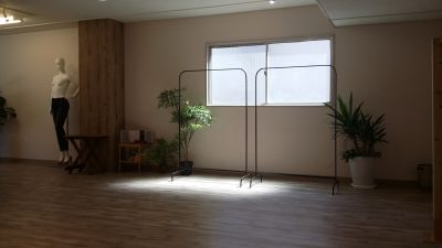 レンタルスペース 展示会スペースの室内の写真