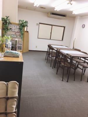 土足禁止です - 豊里フリールーム B教室の室内の写真
