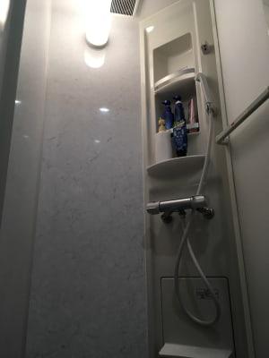 2階 シャワー室 - さいたま市Shikate レンタルリビングの室内の写真