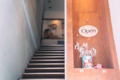 レンタルスペースmoi-moi 北欧スタイルの入口の写真