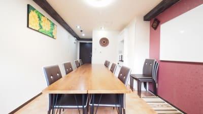 渋谷のレンタルスペース全景 - 貸し会議室【モルディブ】 渋谷少人数利用可レンタルスペースの室内の写真