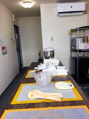 パン教室の様子です - 豊里フリールーム A教室の室内の写真