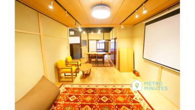 【jicca561ギャラリー】 展示会メインのギャラリースペースの室内の写真