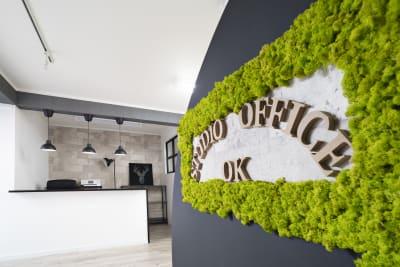 スタジオ&オフィスOK西東京 レンタルスタジオ・会議室の入口の写真