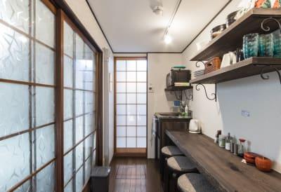 キッチン - MH Houses 京都玉華苑の室内の写真