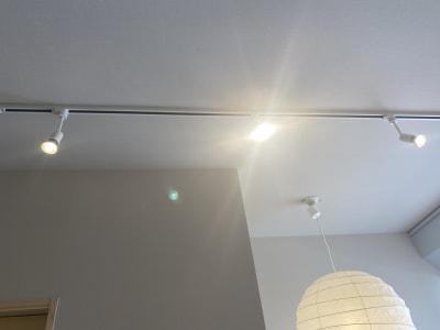 受付照明 - シェアサロン らくさす レンタルサロンの設備の写真