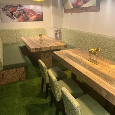 馬肉専門店 PERO829 夜、完全個室、パーティースペースの室内の写真