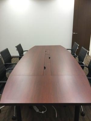 レンタル会議室★1時間~利用可能 会議室の室内の写真