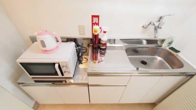 キッチン - 【HIDAMARI】渋谷貸会議室 WiFi電源おしゃれ 女性に人気の設備の写真