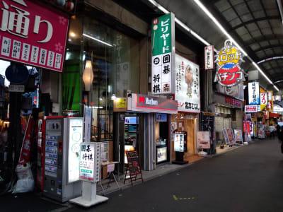 JR京橋駅より直線位置の商店街内に当スペースはございます。 人通りの多さは◎ - 大京クラブ【レンタルスペース】 【 軒先スペース 】の室内の写真