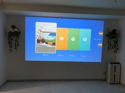 サンシステム パーティールームから会議室の室内の写真