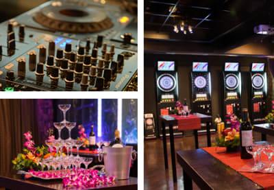 バーリズム 貸切パーティー&ダーツ・カフェの設備の写真