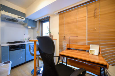 Tasuki Azabu テレワークの室内の写真
