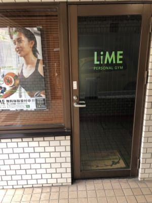 LiMEレンタルジム 市ヶ谷 レンタルジムの入口の写真