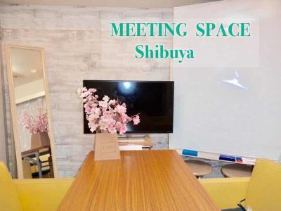 渋谷駅ハチ公口スクランブル交差点 徒歩3分 好アクセスの会議室・レンタルスペースです。  - 渋谷駅ハチ公口3分 多目的スペースの室内の写真