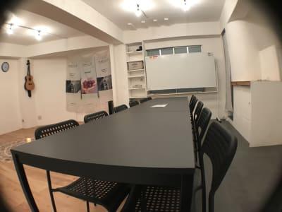 机の配置を変えて。 - レンタルスぺ―ス Ku-Neru レンタルスペース/撮影会場としての室内の写真