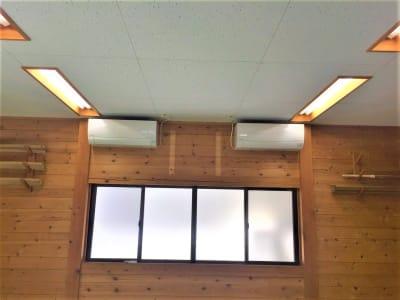 冷暖房完備しています。 - レンタルスペースふじみ野 多目的スペース(30名用)の設備の写真