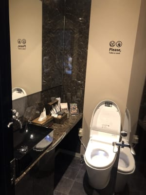 専用トイレ - ルームレストラン バチェラー ダヴィンチの設備の写真