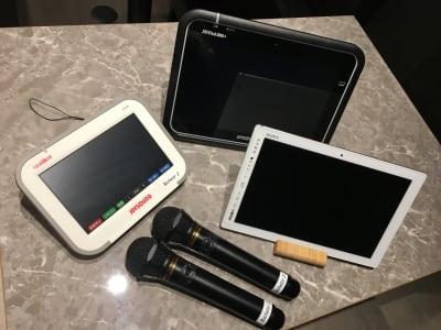 カラオケ設備、タブレット、クロームキャスト完備 - ルームレストラン バチェラー ラファエロの設備の写真