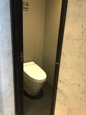 専用トイレ - ルームレストラン バチェラー ダリの設備の写真