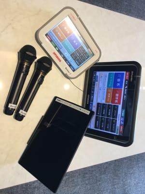 カラオケ設備、タブレット、クロームキャスト完備 - ルームレストラン バチェラー ダリの設備の写真