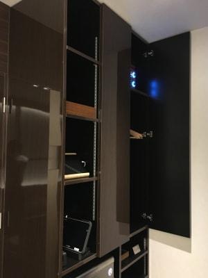 専用クローゼット - ルームレストラン バチェラー ミケランジェロの設備の写真