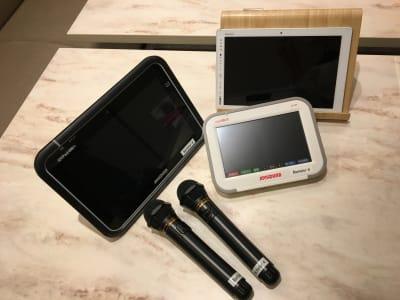 カラオケ設備、タブレット、クロームキャスト完備 - ルームレストラン バチェラー バンクシーの設備の写真