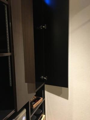 専用クローゼット - ルームレストラン バチェラー バンクシーの設備の写真
