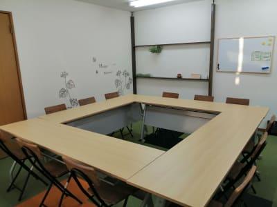 机を4台使ったパターンです。 - レンタルスペース星陵台 サニースペース星陵台の室内の写真