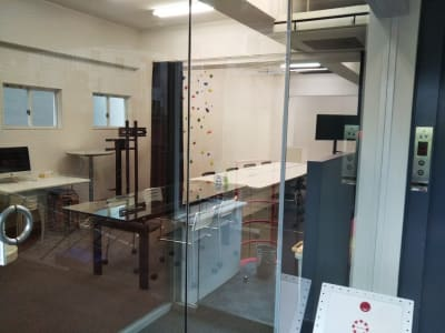 スタジオ入口(外から) - トライアンフ四谷スタジオ レンタルスタジオの室内の写真