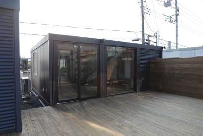 U-SPACE つくば店 SOHOモデルの入口の写真