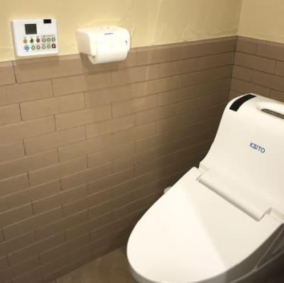 お部屋にトイレ完備 - 鬼岩湯本館 個室ワークスペースの設備の写真