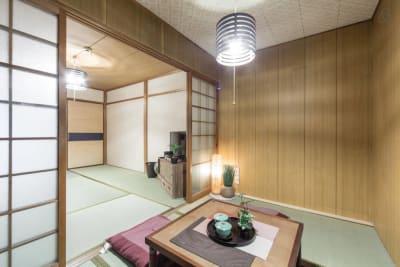 居間です - 京都VILLASOUND 一軒家まるまる貸切!の室内の写真