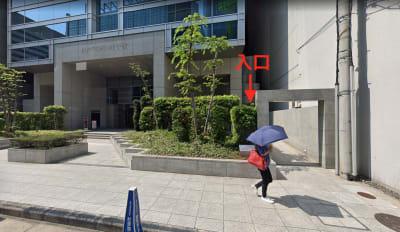 GYMTY堂島 プロジェクター・会議・飲み会の入口の写真