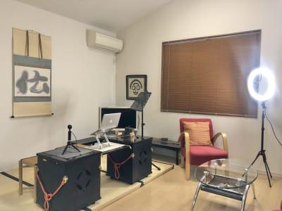 リビング立礼棚 - 椿Salon(茶室付き) 椿Salonの室内の写真