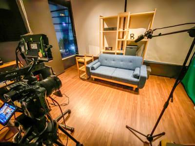 撮影イメージ1 - コンポジション 神山スタジオ 無人収録・配信スタジオの室内の写真
