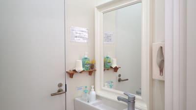 洗面台 - 整体サロンArtBody レンタルサロンの室内の写真