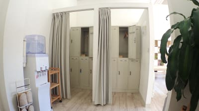 更衣室 - 整体サロンArtBody レンタルサロンの室内の写真