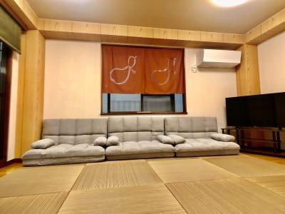 新宿市谷 癒し処 和風荘「和庭」 特別室半額!イベントスペースの室内の写真