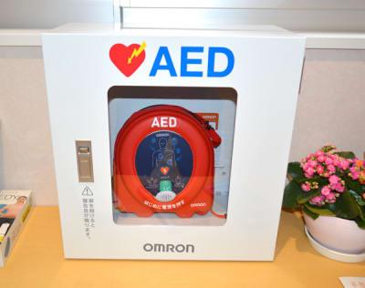 新品AEDも設置済です。 - 真和ビル S-Space(エススペ)の設備の写真