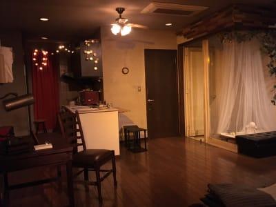 演劇公演でも使用しています。 - アトリエ5-25-6 レンタルアートスペースの室内の写真