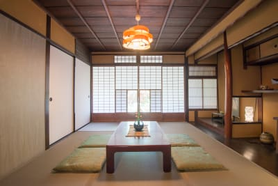 和室 - 幻 毘沙門 多目的〜デザイナーズ京町家〜 の室内の写真