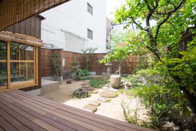 裏庭 - 幻 毘沙門 多目的〜デザイナーズ京町家〜 の室内の写真