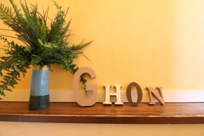 可愛い装飾。 - 【GHON】便利な立地の戸建貸切 戸建て貸切 #201の室内の写真