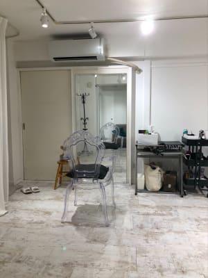 美容ブース(道具は好きに動かしてください) - greatFULLdays  多目的スペース、レンタルスタジオの室内の写真