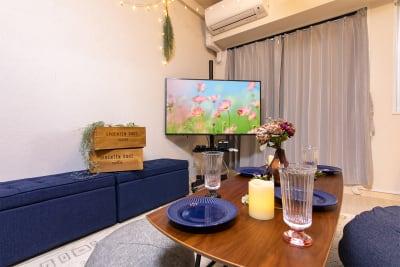 105_fika渋谷道玄坂 キッチンスペースの室内の写真