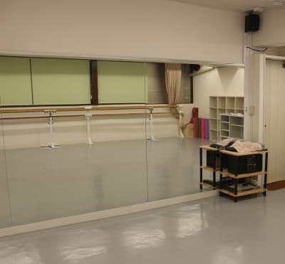 アキバレエスタジオMCジョイアス レンタルルームの室内の写真