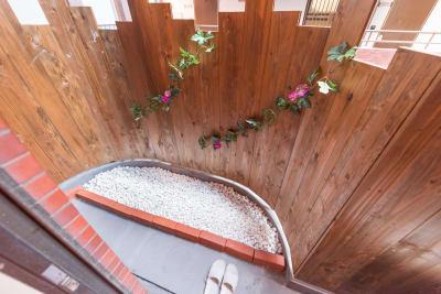 和室付き庭 - パピヨンパラダイス東新宿  3LDKの室内の写真