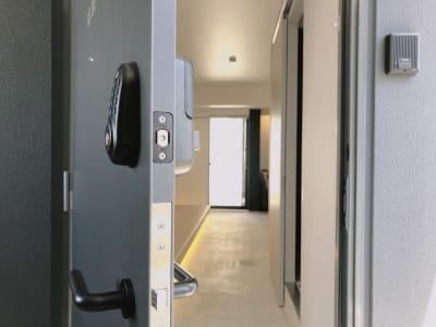 b hotel 平和大通り 101号室の入口の写真